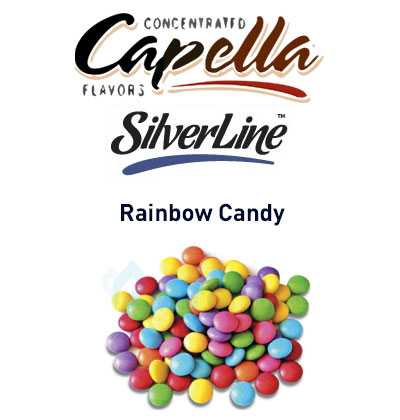 Обзор ароматизатора Capella Rainbow Candy.Описание от производителя