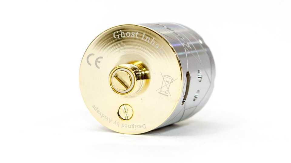 Обзор Avidvape Ghost Inhale RDA.Внешний вид и параметры