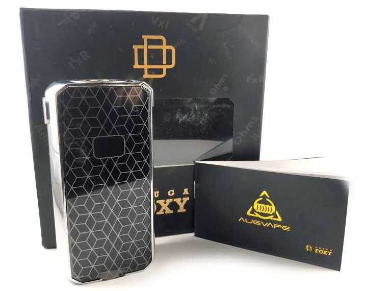 Review of the Augvape Druga Foxy 150W boxing mod.