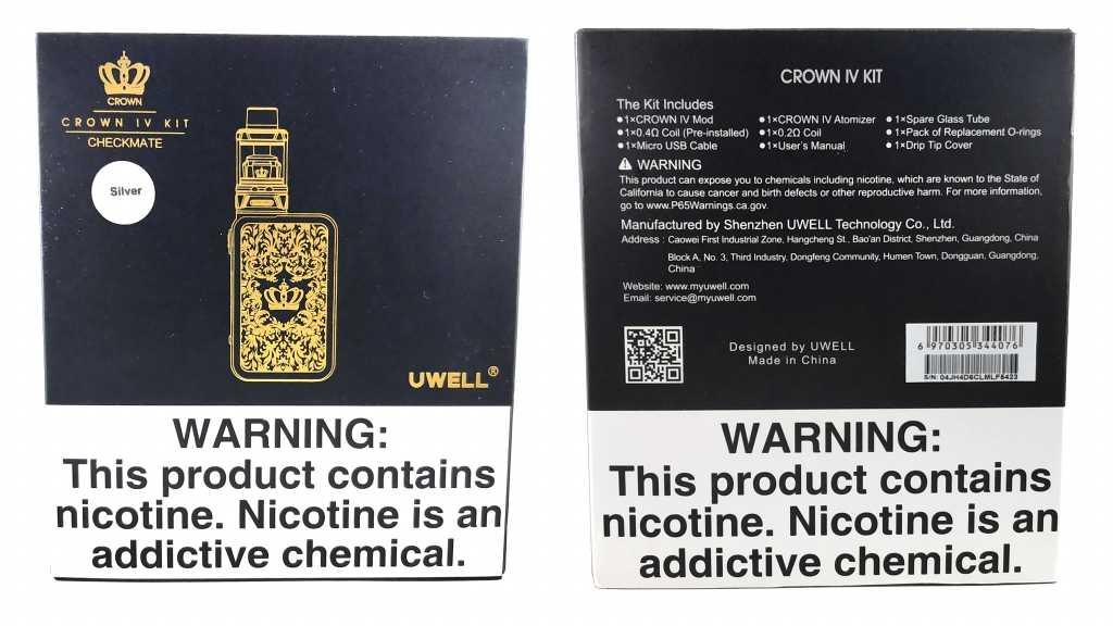 Упаковка Crown IV