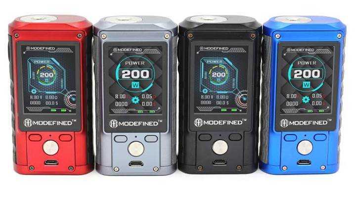 Обзор бокс-мода Modefined Draco 200W.Дисплей