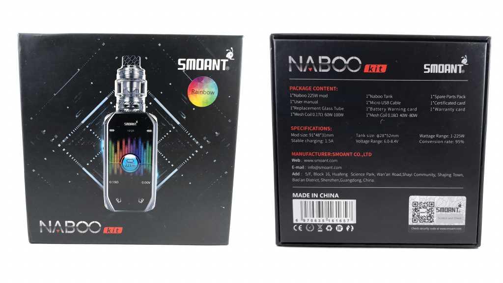 Упаковка Smoant Naboo 225W