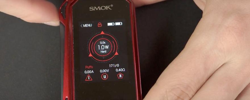 Обзор бокс-мода Smok G-Priv 2.Дисплей