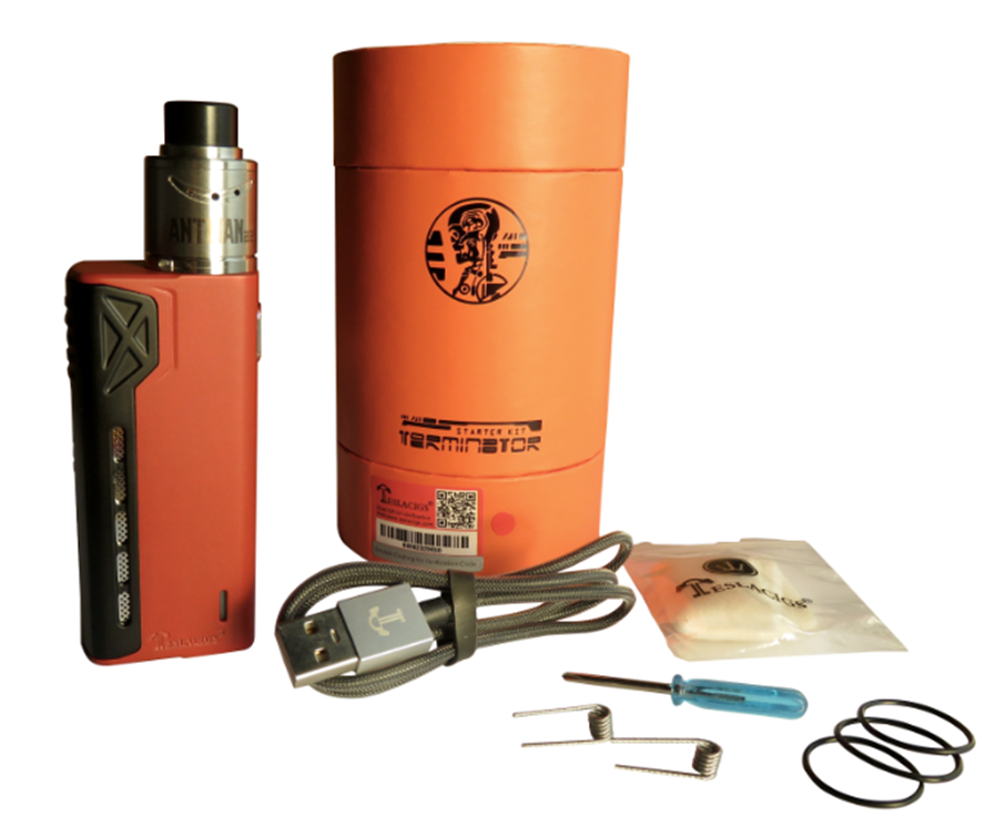 Обзор бокс-мода Tesla Terminator Starter Kit.Комплектация