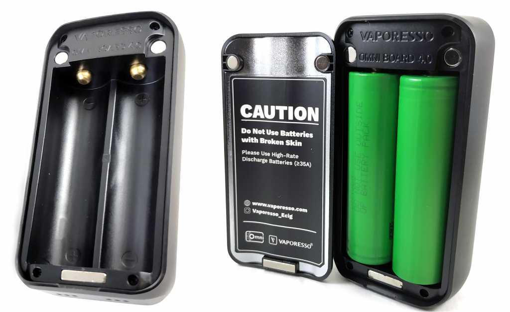Батарейный отсек Vaporesso Luxe 220W