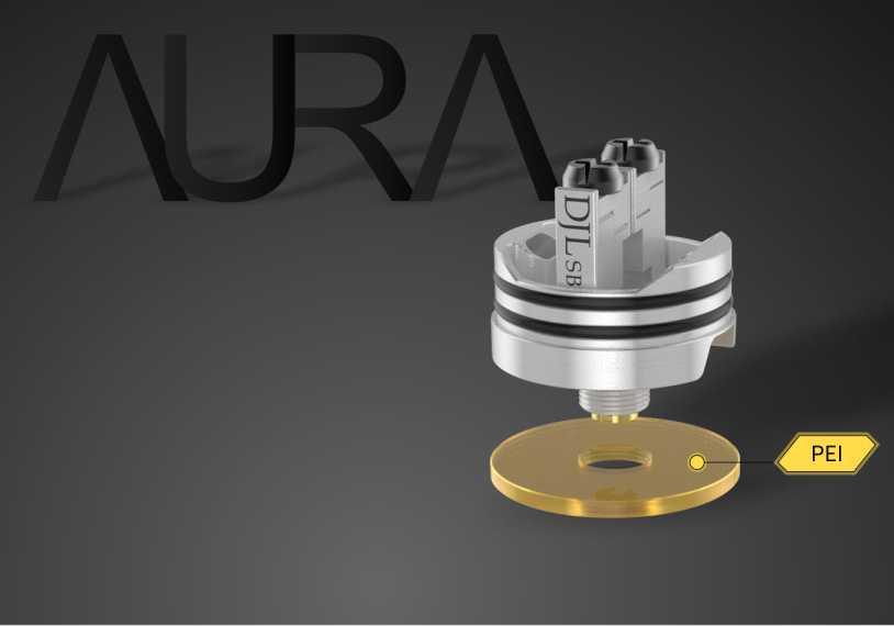 Обзор дрипки Digiflavor Aura RDA.Конструкция и особенности