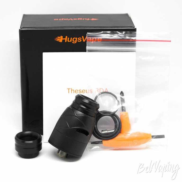 Обзор дрипки Hugsvape Theseus RDA.Упаковка и комплектация