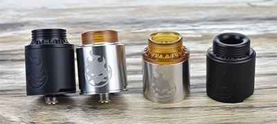 Phobia RDA by Vandy Vape and Alex VapersMD. Первый взгляд