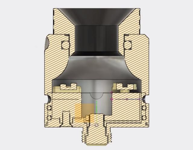 Обзор дрипки Vandy Vape Paradox RDA.Испарительная камера и обдув