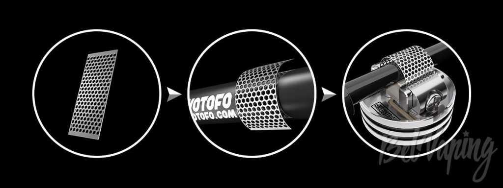 Обзор дрипки Wotofo Profile RDA. Первый взгляд.Внешний вид Wotofo Profile RDA