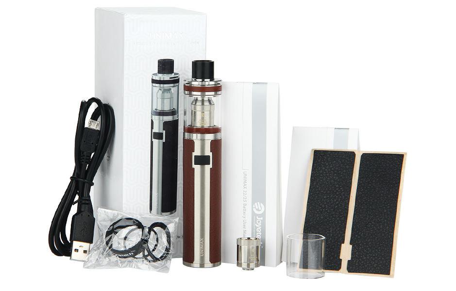Обзор электронной сигареты Joyetech Unimax 25.Комплектация
