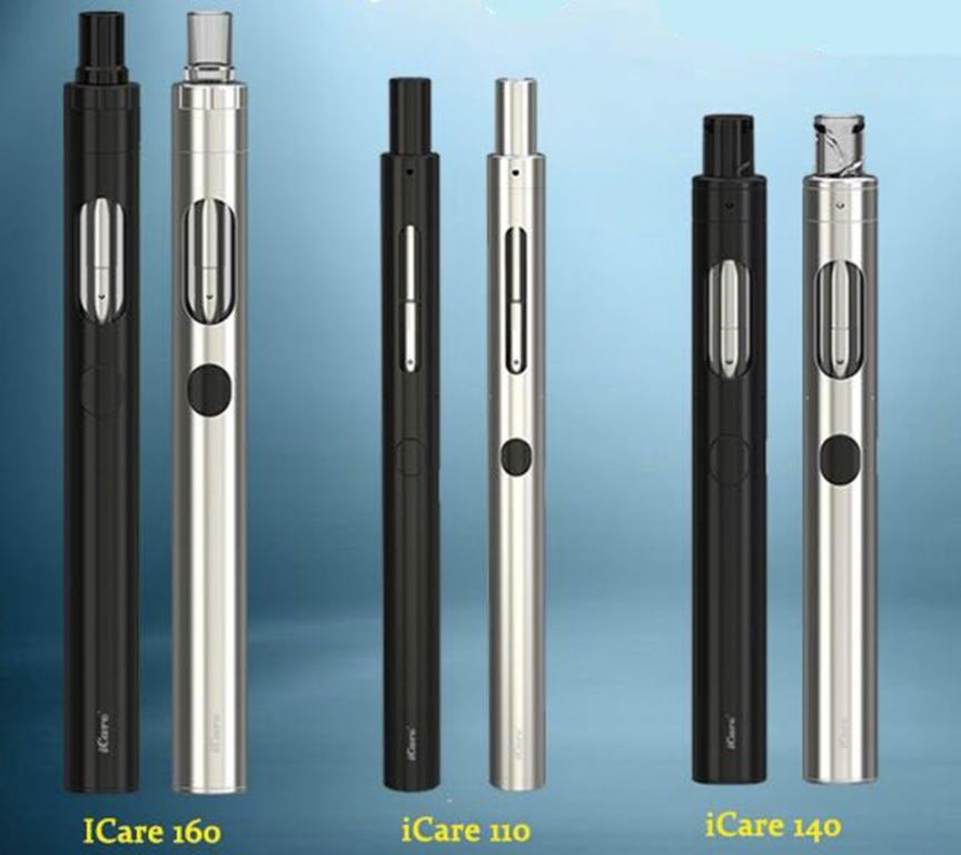 Обзор электронных сигарет Eleaf iCare 110, 140 и 160