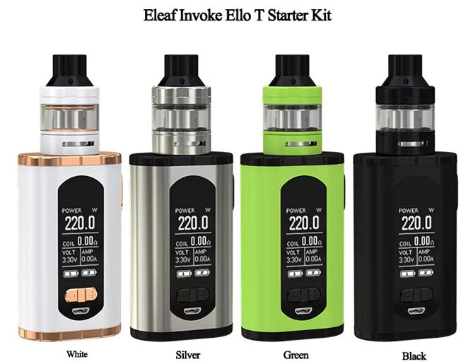 Обзор Eleaf Invoke Kit.Внешний вид