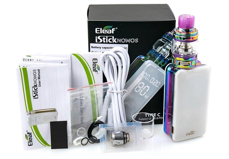 Обзор Eleaf iStick Nowos 80W Kit.Комплектация