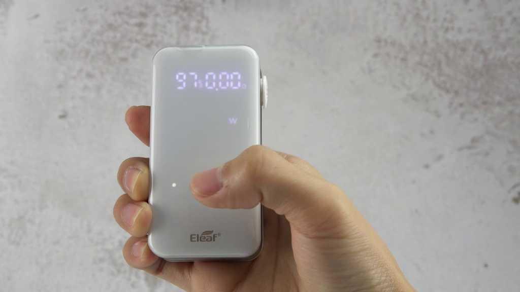 Обзор Eleaf iStick Nowos 80W Kit.Внешний вид