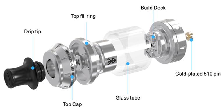 Обзор клиромайзера Vandy Vape Berserker Mini MTL RTA.Функциональность и особенности