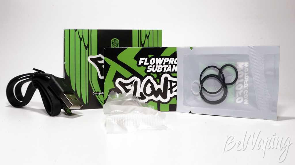 Обзор набора FLUX Mod и FLOW PRO Subtank от Wotofo.Что в коробке