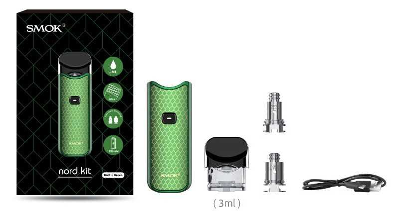 Overview pod-system SMOK Nord.Complete