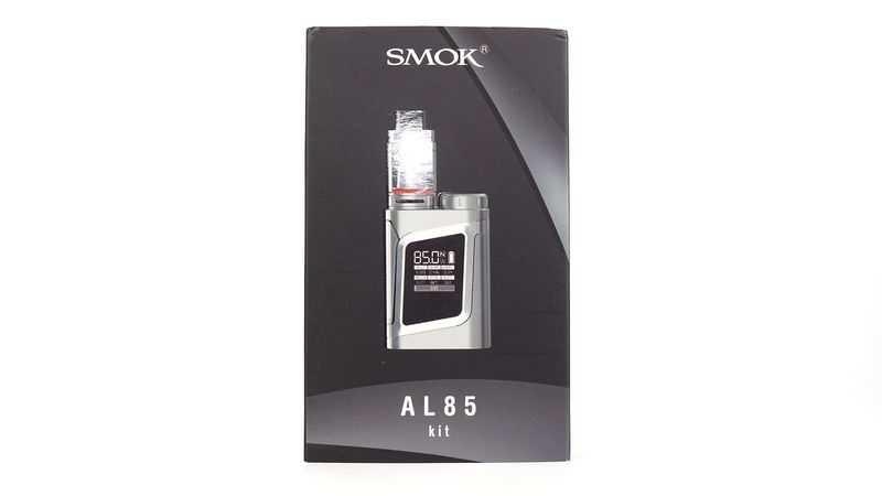 Обзор бокс-мода SMOK AL85.Упаковка и комплектация