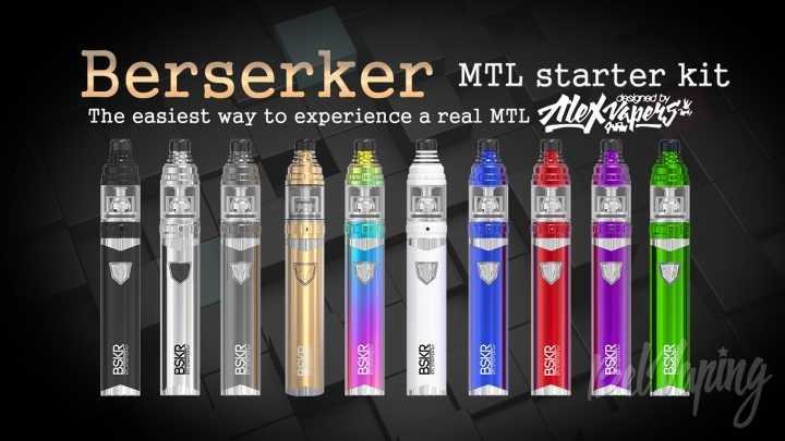 Обзор Vandy Vape Berserker MTL Kit. Первый взгляд