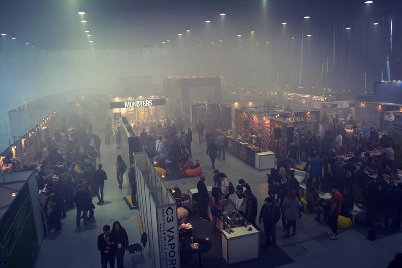 Обзор Vapeshow 2017 в Москве.Участники