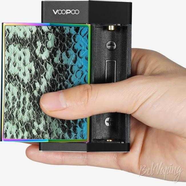 Обзор VooPoo Too. Первый взгляд.Особенности конструкции