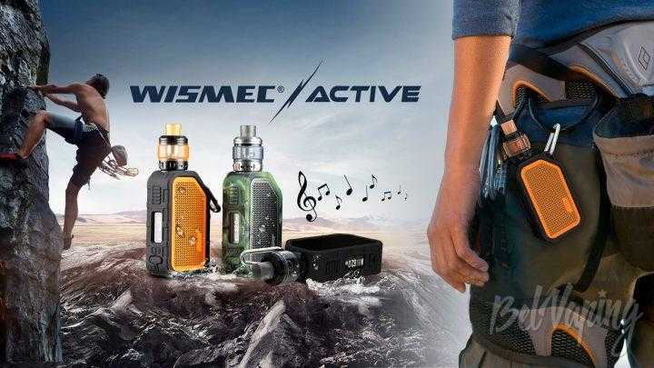 Обзор Wismec Active. Первый взгляд