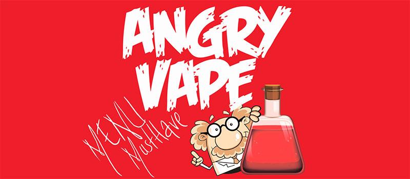 Обзор жидкости Angry Vape