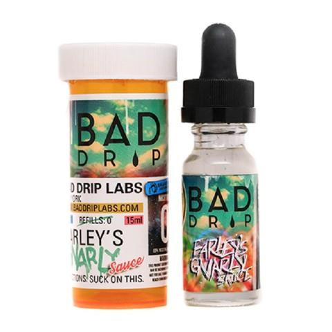 Обзор жидкости Bad Drip.Farley`s gnarly sause