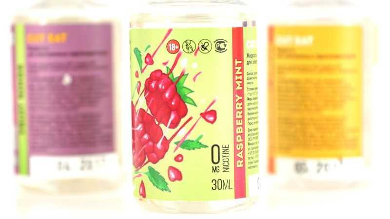 Обзор жидкости Cut Eat.Raspberry mint