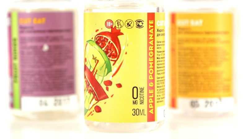 Обзор жидкости Cut Eat.Apple & pomegranate