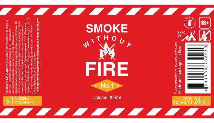 Обзор жидкости Fire.Состав жидкости