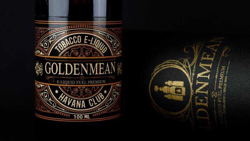 Обзор жидкости Golden Mean.Havana Club