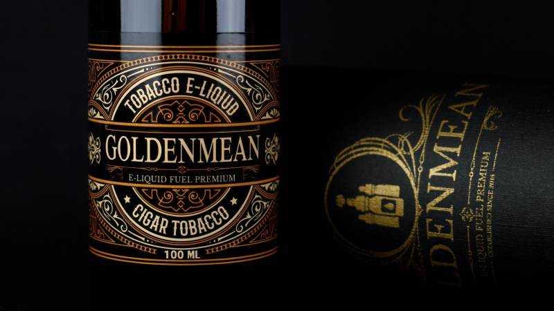 Обзор жидкости Golden Mean.Cigar Tobacco