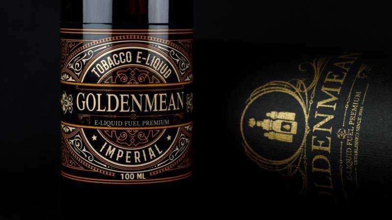 Обзор жидкости Golden Mean.Imperial