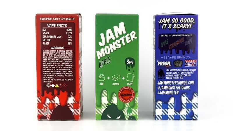 Обзор жидкости Jam Monster.Внешний вид и информация