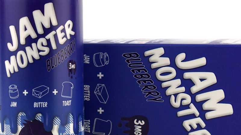 Обзор жидкости Jam Monster.Blueberry