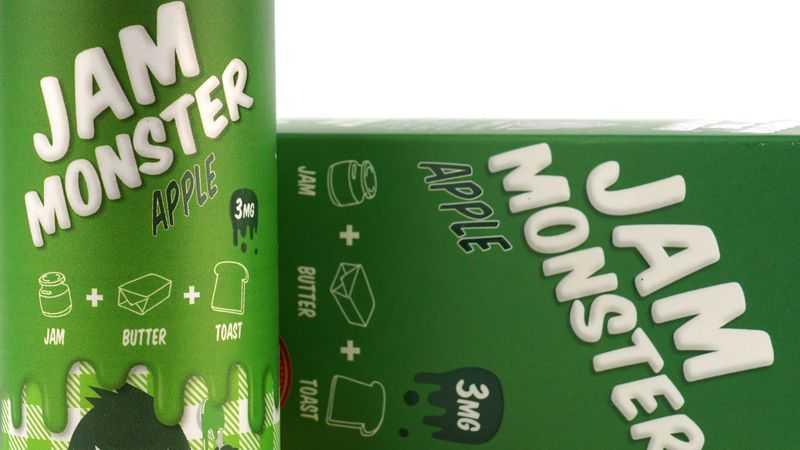 Обзор жидкости Jam Monster.Apple
