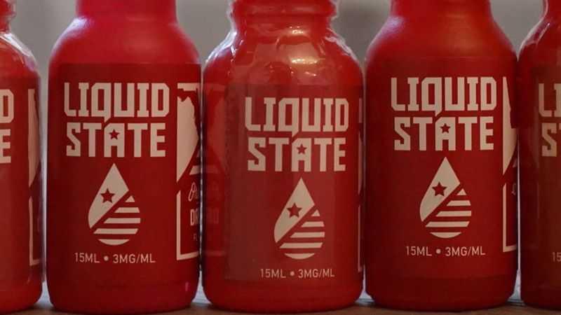 Обзор жидкости Liquid State Vapors