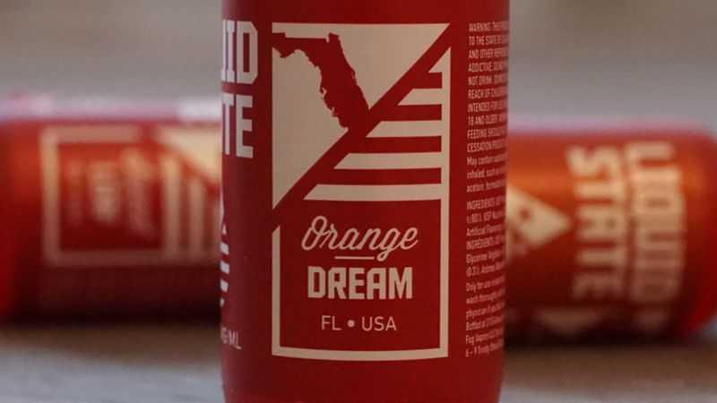 Обзор жидкости Liquid State Vapors.Orange Dream