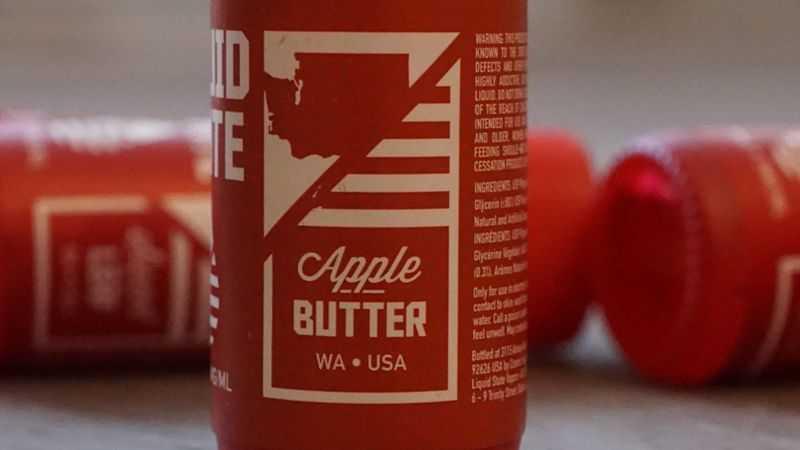 Обзор жидкости Liquid State Vapors.Apple Butter