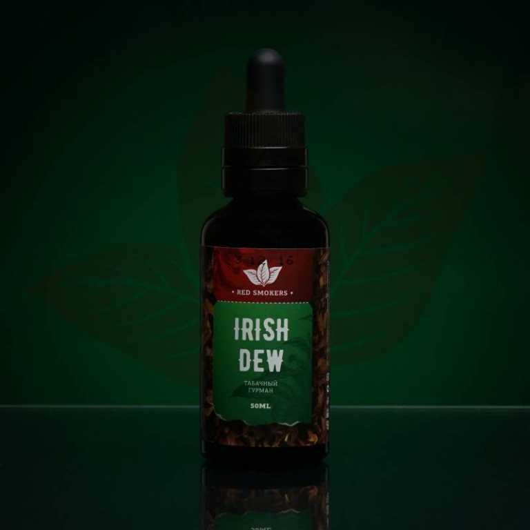 Обзор жидкости Red Smokers New.Irish Dew