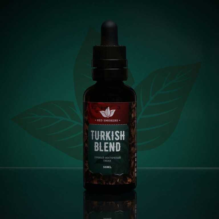 Обзор жидкости Red Smokers New.Turkish Blend