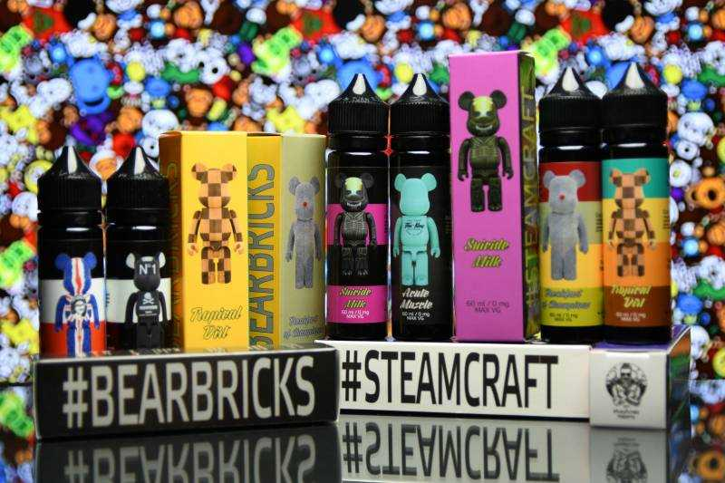Обзор жидкости SteamCraft Bearbricks - Жижка в мишках