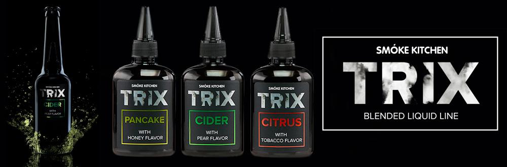 Обзор жидкости TRIX.Вкусы и линейки