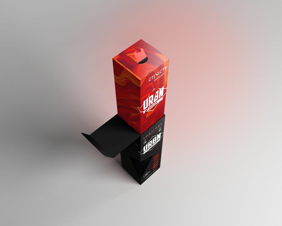 Обзор жидкости URBN.Упаковка