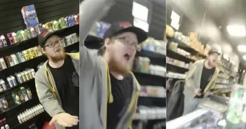Работник вейп-магазина отказался обслуживать сторонника Трампа