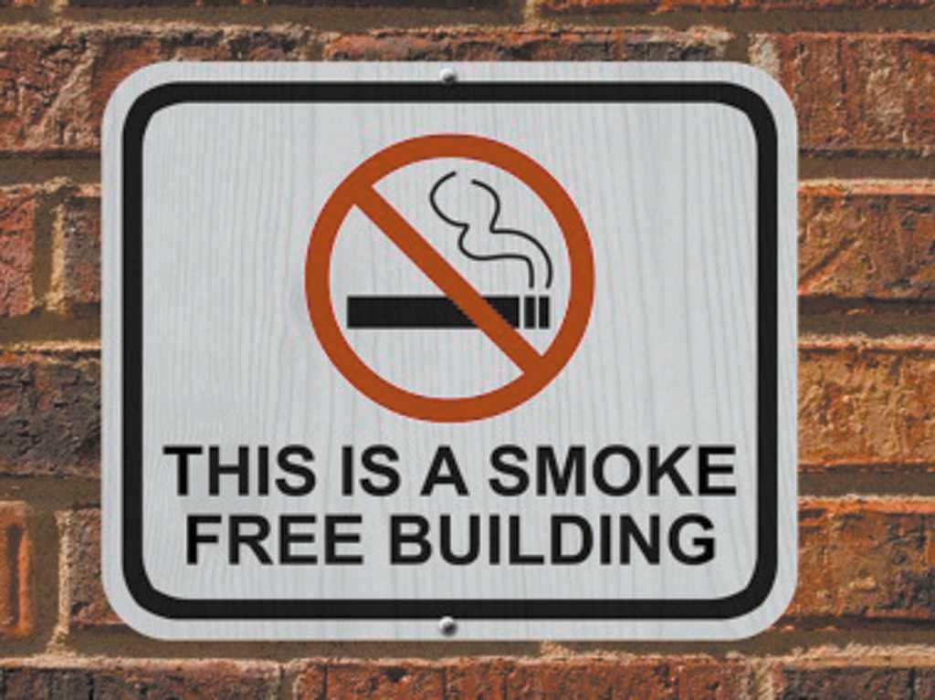 В Нью-Йоркских домах запретили курить