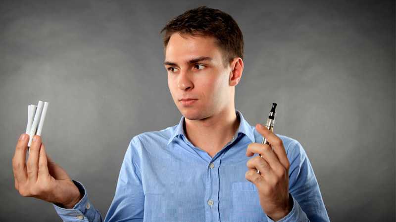 Вейпинг вызывает привыкание и соблазняет к курению?