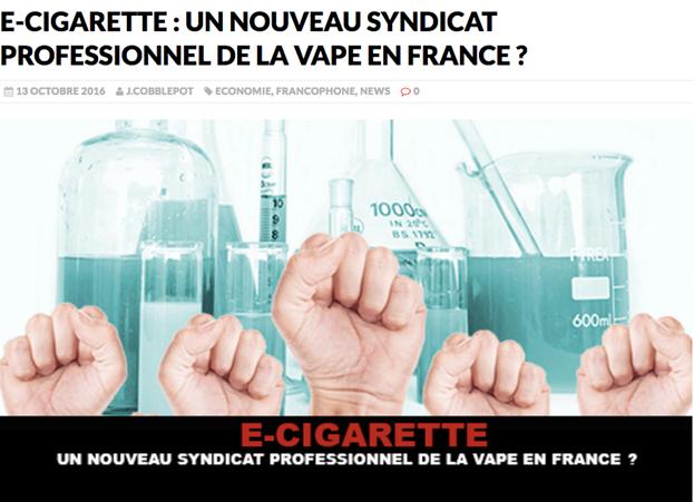 Прорыв французских вейперов в информационной войне.Каков эффект, каковы причины?